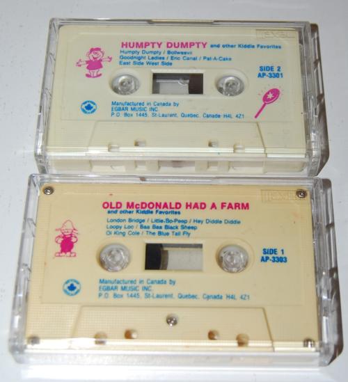 Cassettes egbar music
