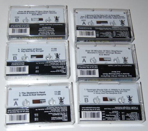Cassettes halloween x