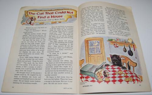 Jack & jill magazine september 1961 13