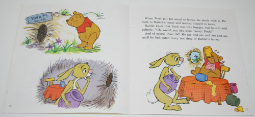 Disney book & cassette winnie the pooh 6