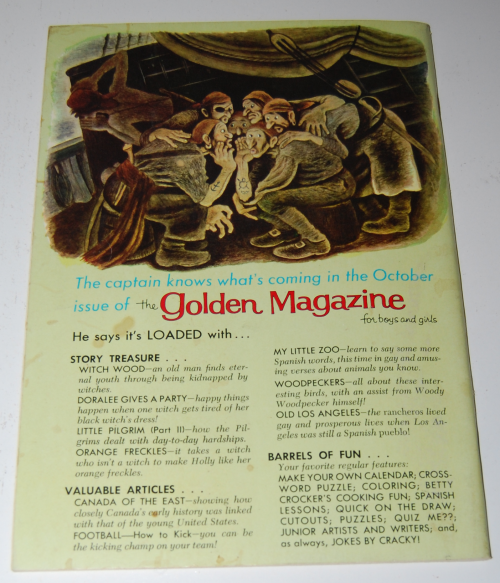 Golden magazine september 1965 x