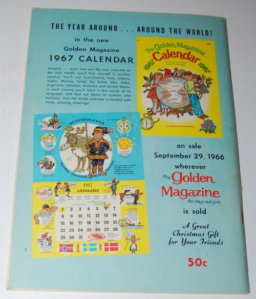 Golden magazine september 1966 x
