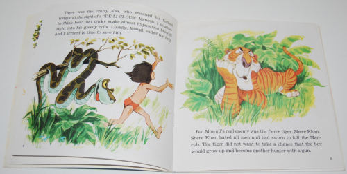 Disney book & cassette jungle book 2