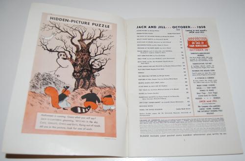 Jack & jill magazine october 1958 1