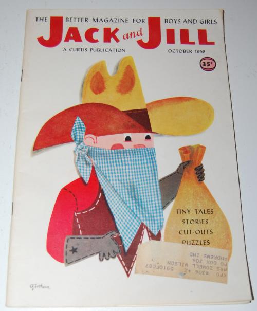 Jack & jill magazine october 1958