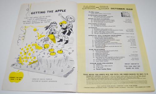 Jack & jill magazine october 1962 1