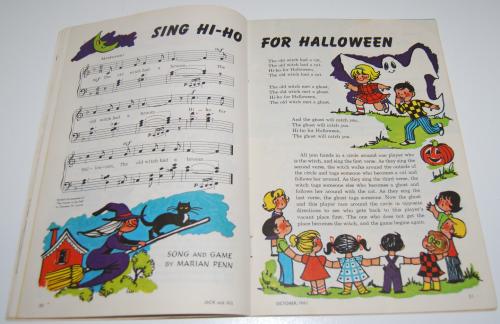 Jack & jill magazine october 1961 11