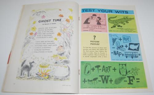 Jack & jill magazine october 1960 13