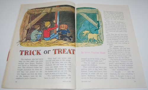 Jack & jill magazine october 1960 14