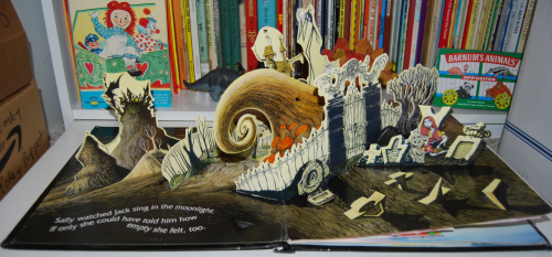 Nightmare before christmas pop up book 1