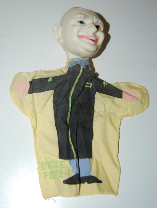 Ideal uncle fester puppet