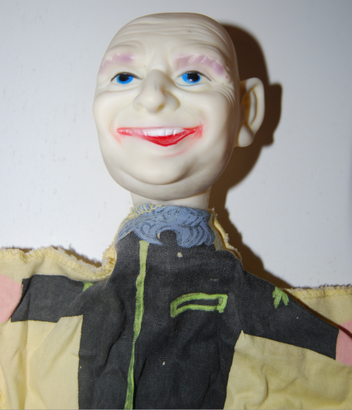 Ideal uncle fester puppet 2