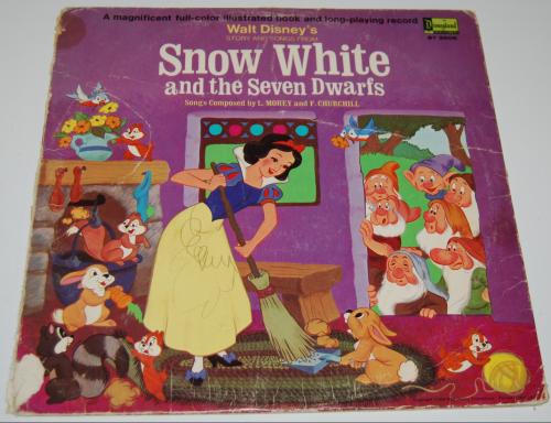 Disney snow white vinyl 2