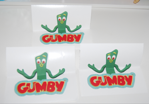 Small gumby wall graphics