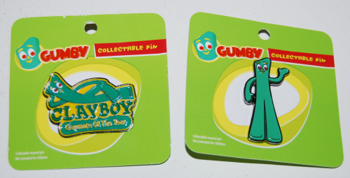 Gumby collectible pins