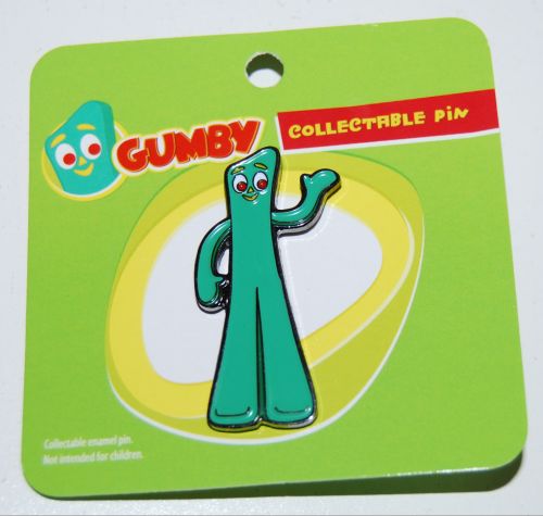 Gumby collectible pin