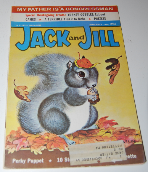 Jack & jill magazine november 1964