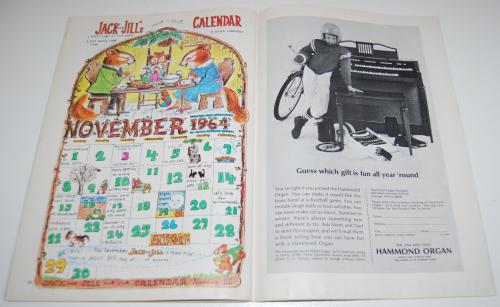 Jack & jill magazine november 1964 11