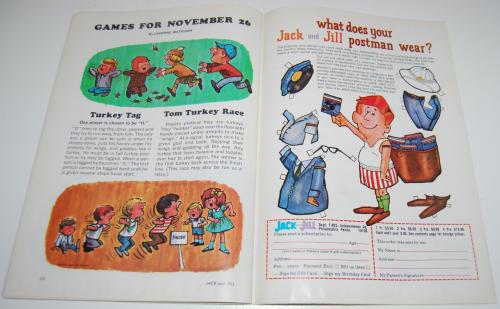 Jack & jill magazine november 1964 14