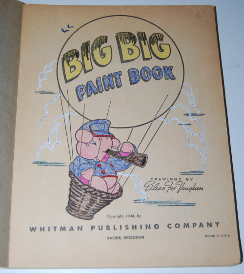 Whitman big big paint book 1948 1