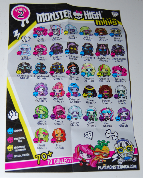 Monster high minis 4