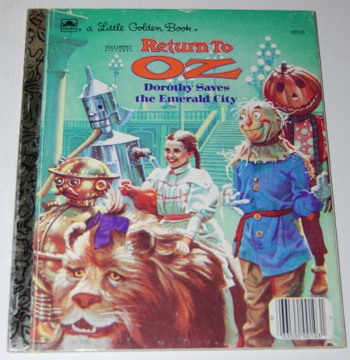 Little golden book return to oz