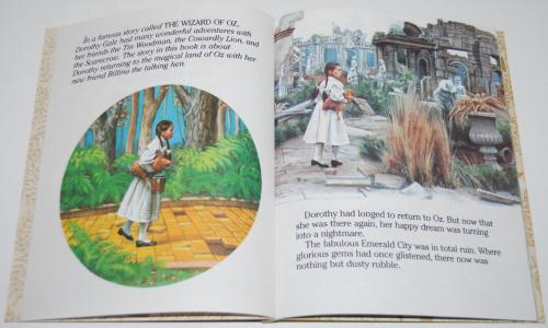 Little golden book  return to oz 2