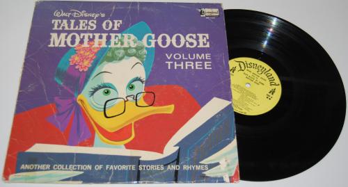 Disney mother goose vinyl