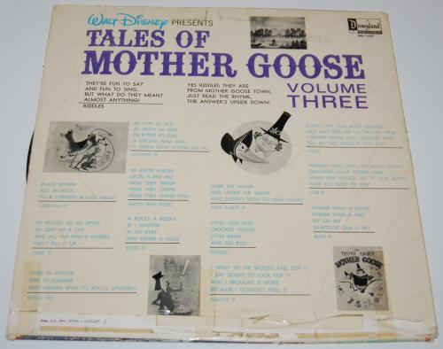 Disney mother goose vinyl x