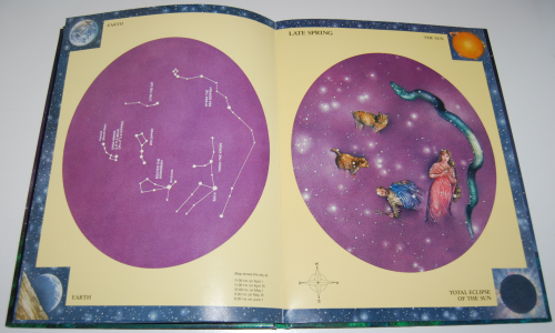 Glow in the dark night sky book 4