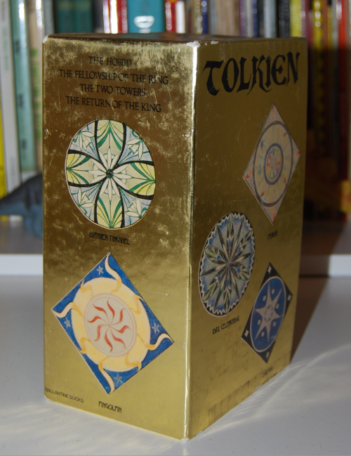 Tolkien paperback book set 1