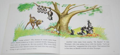 Disney book & cassette bambi 2