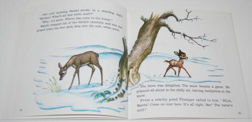 Disney book & cassette bambi 3