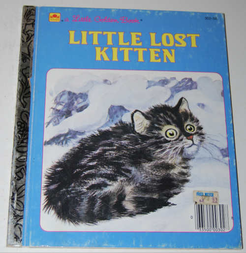 Little lost kitten little golden book