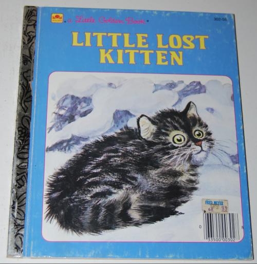 Little lost kitten little golden book