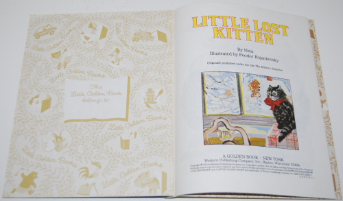 Little lost kitten little golden book 1