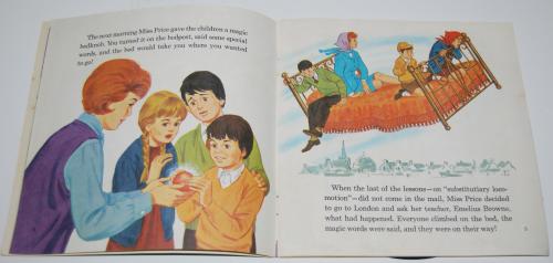 Disney bedknobs & broomsticks vinyl record 2