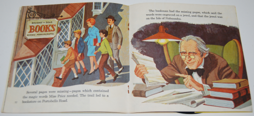 Disney bedknobs & broomsticks vinyl record 4