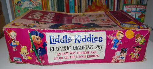 Lakeside liddle kiddles electric drawing desk