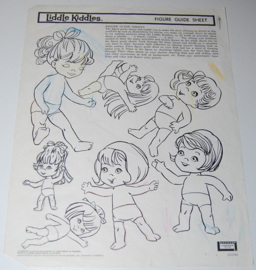 Lakeside liddle kiddles electric drawing set 11