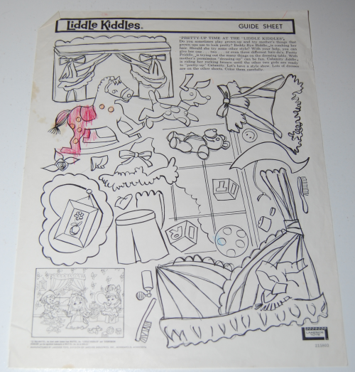 Lakeside liddle kiddles electric drawing set 15
