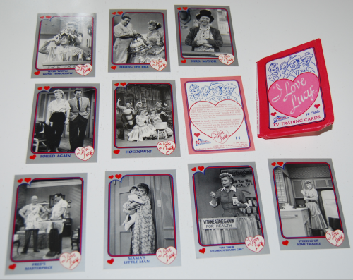 I love lucy cards