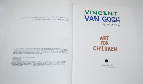 Art for children van gogh 2