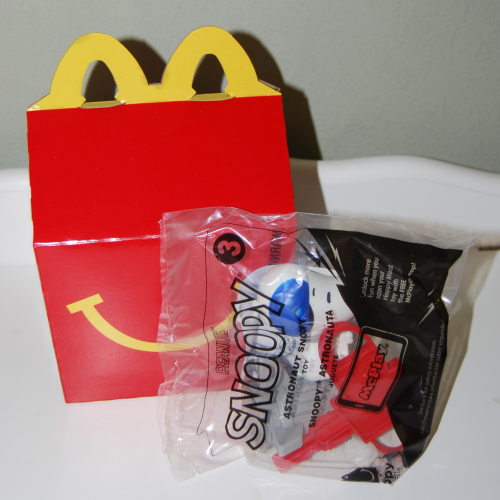 Snoopy happy meal