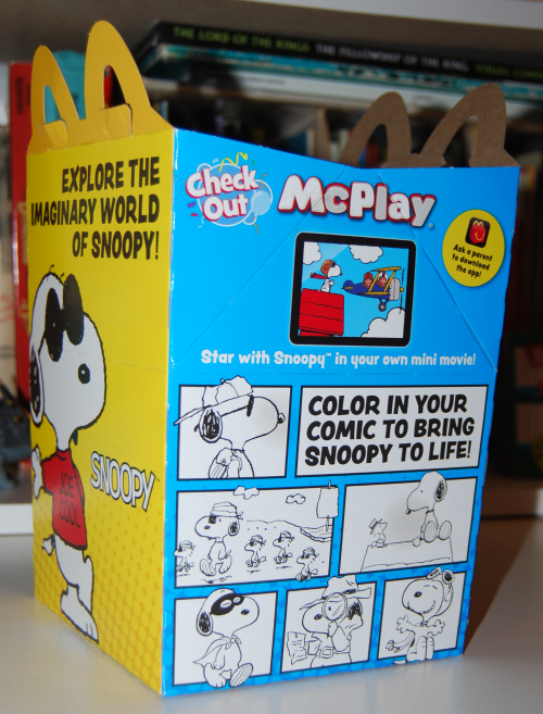World of snoopy happy meal prizes x