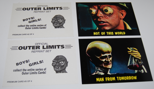 Outer limits super size card