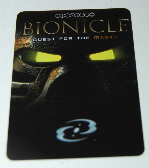 Bionicle card