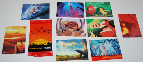 Lion king cards