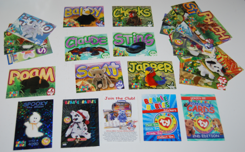 Ty beanie babies cards