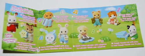 Calico critters baby band 2